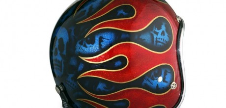 SKULL AND FLAMES euro 380,00