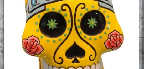 teschio messicano giallo euro 17,00