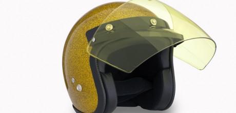 visiera flip up yellow euro 30,00