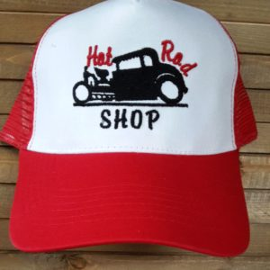 hot rod shop red