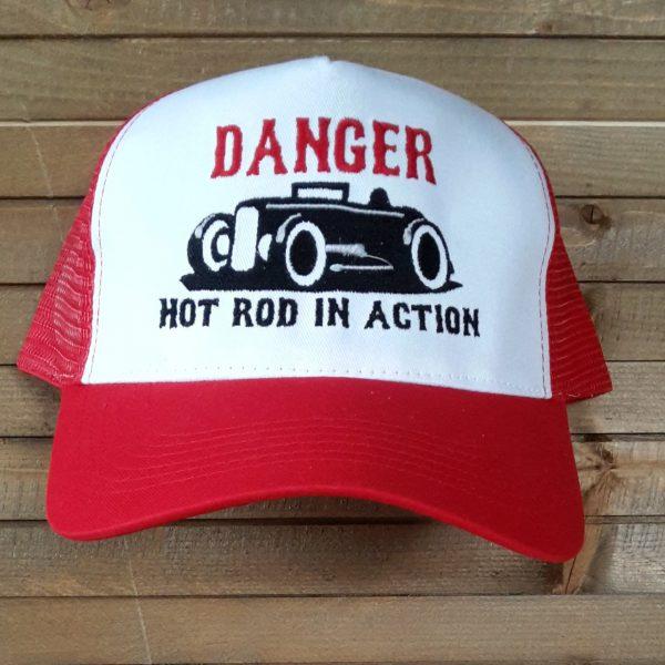 DANGER HOT RED
